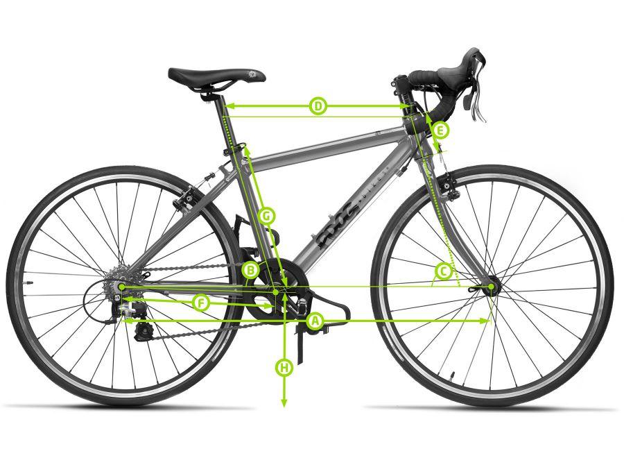 Geometria - lekki rower szosowy dla dzieci Frog 67 Road